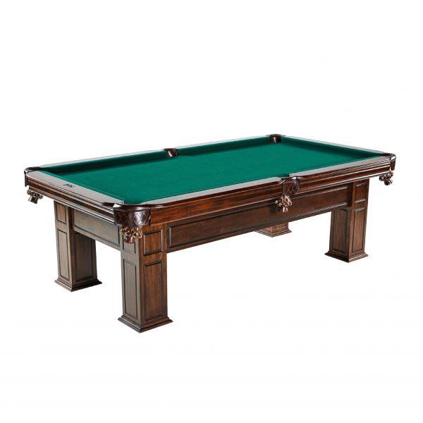 barringotn solid wood billiard table