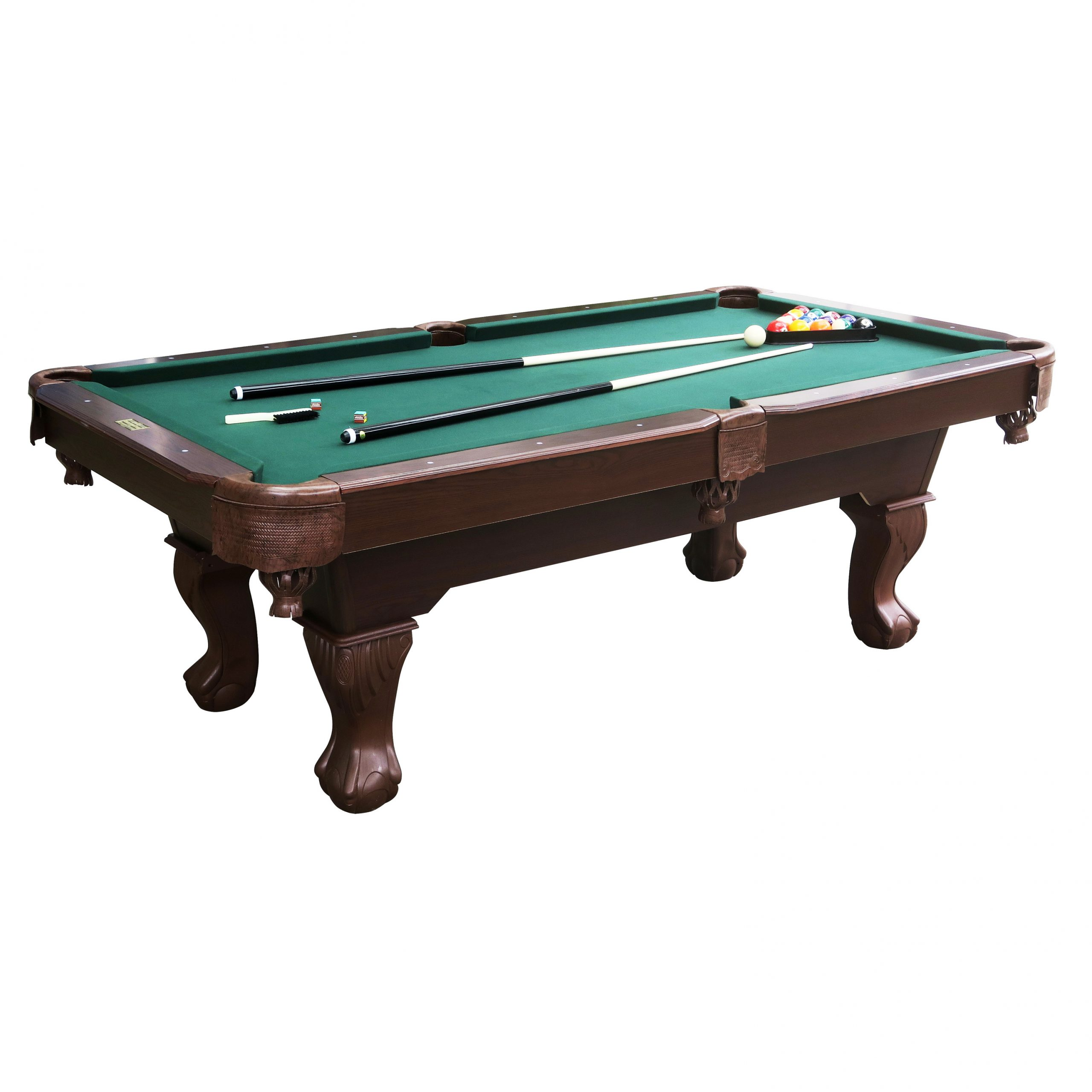 Barrington 7.5 ft Springdale Claw Leg Billiard Table