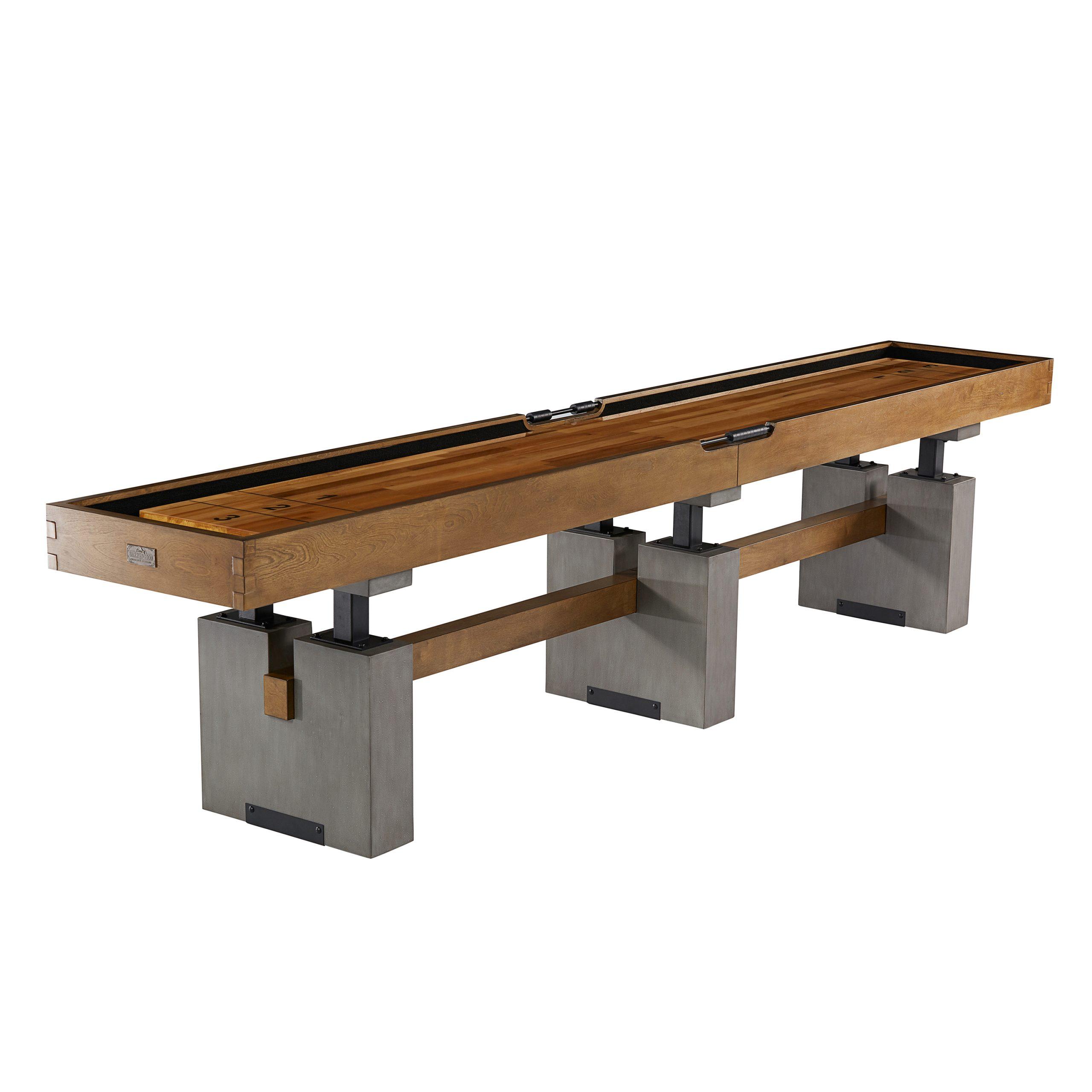 Barrington 12 Ft. Clyborne Shuffleboard Table