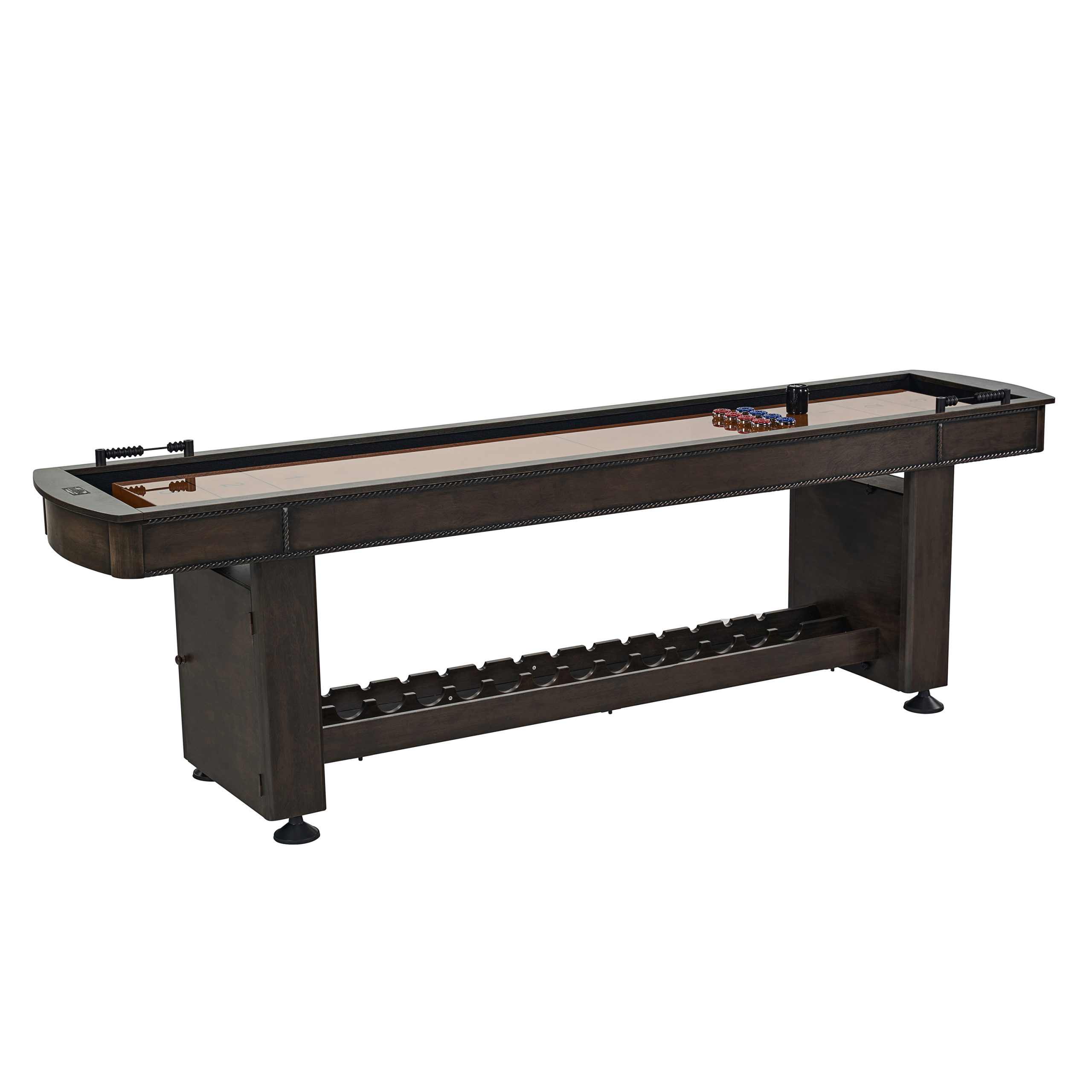 traditional shuffleboard table