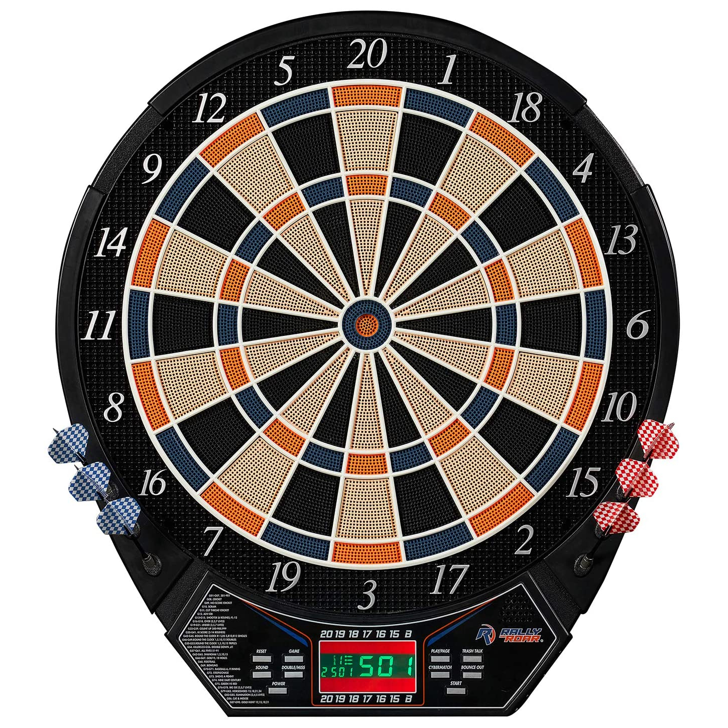 Rally and Roar Electronic Dartboard
